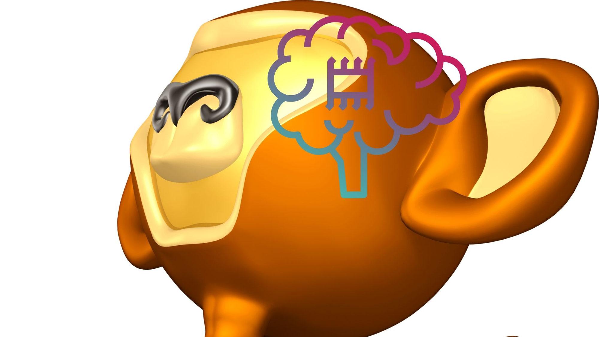 猿でも、脳内ビデオゲームできるって!