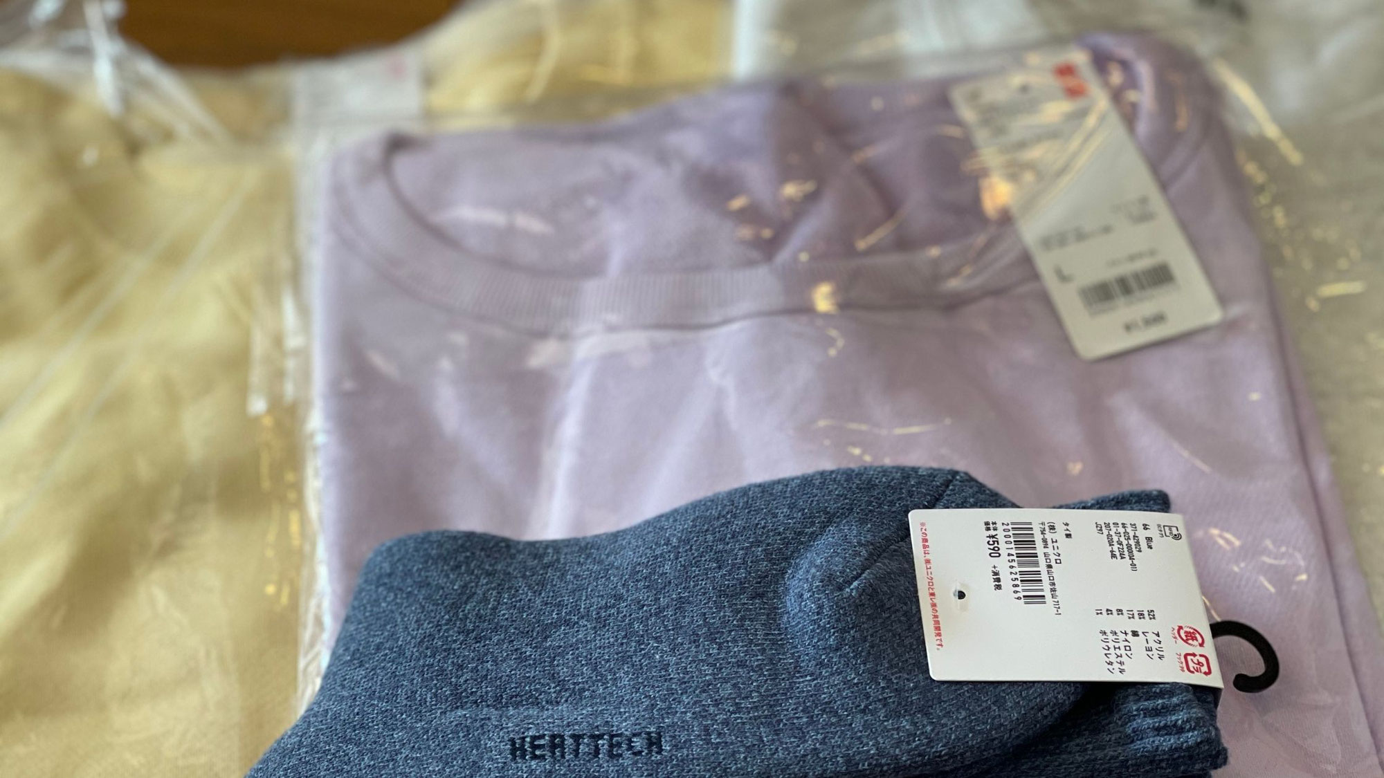春の新色:ユニクロのスウェットシャツ