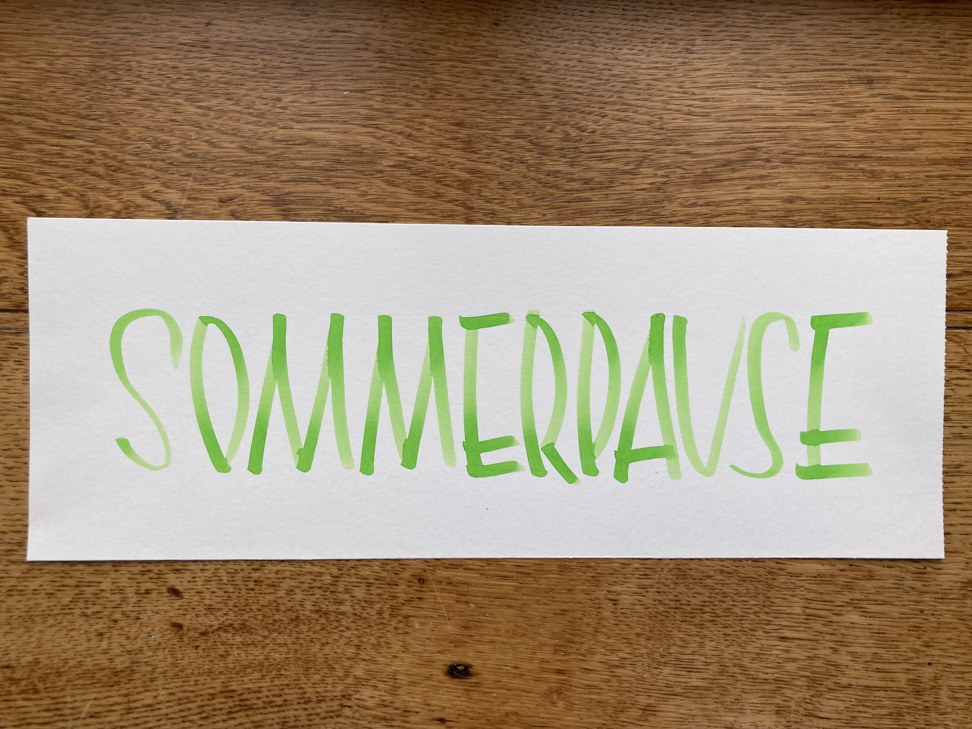 Sommerpause - Kreativzeit!