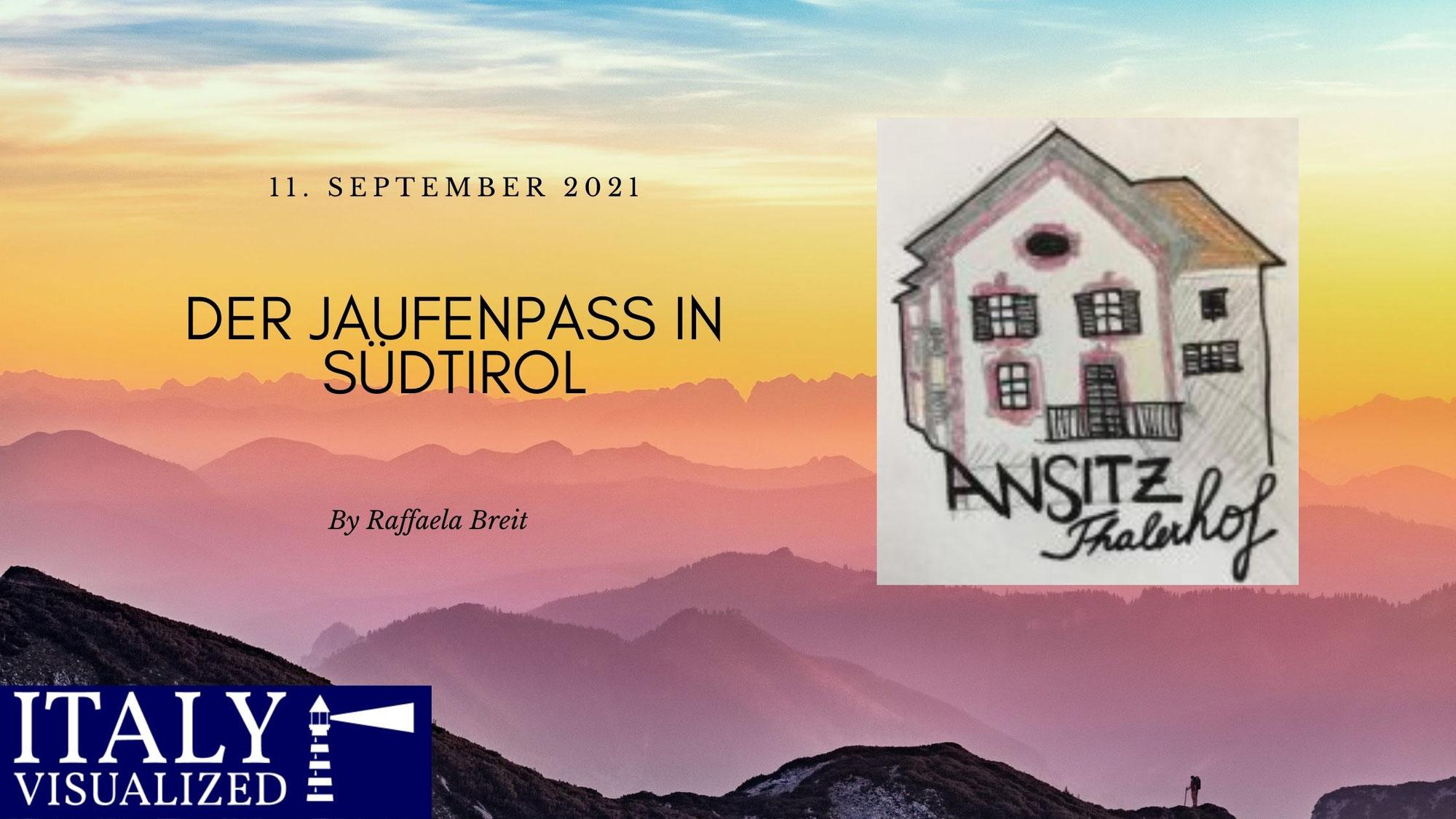 Der Jaufenpass in Südtirol