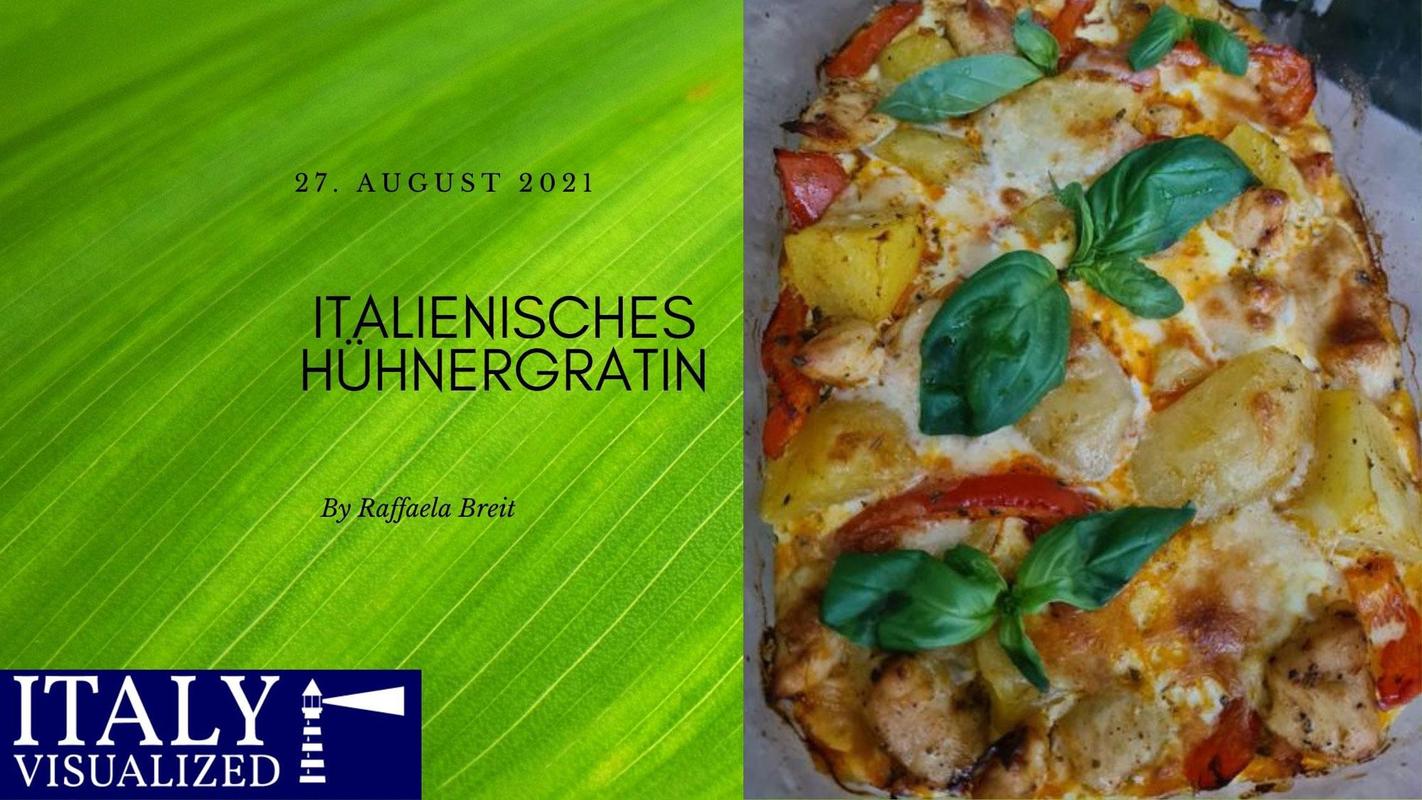 Italienisches Hühnergratin