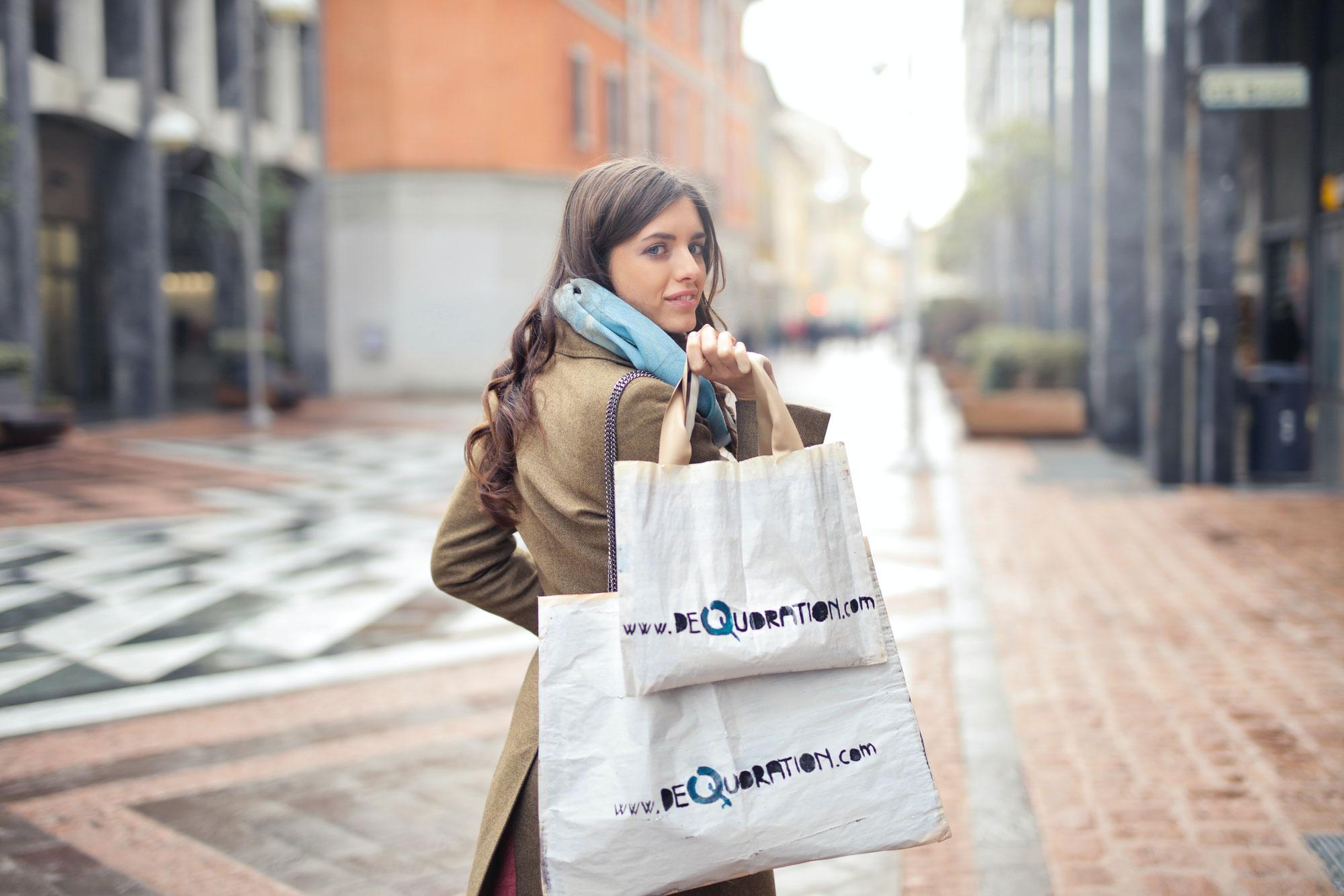 Nachhaltig einkaufen mit schönen Jutetaschen