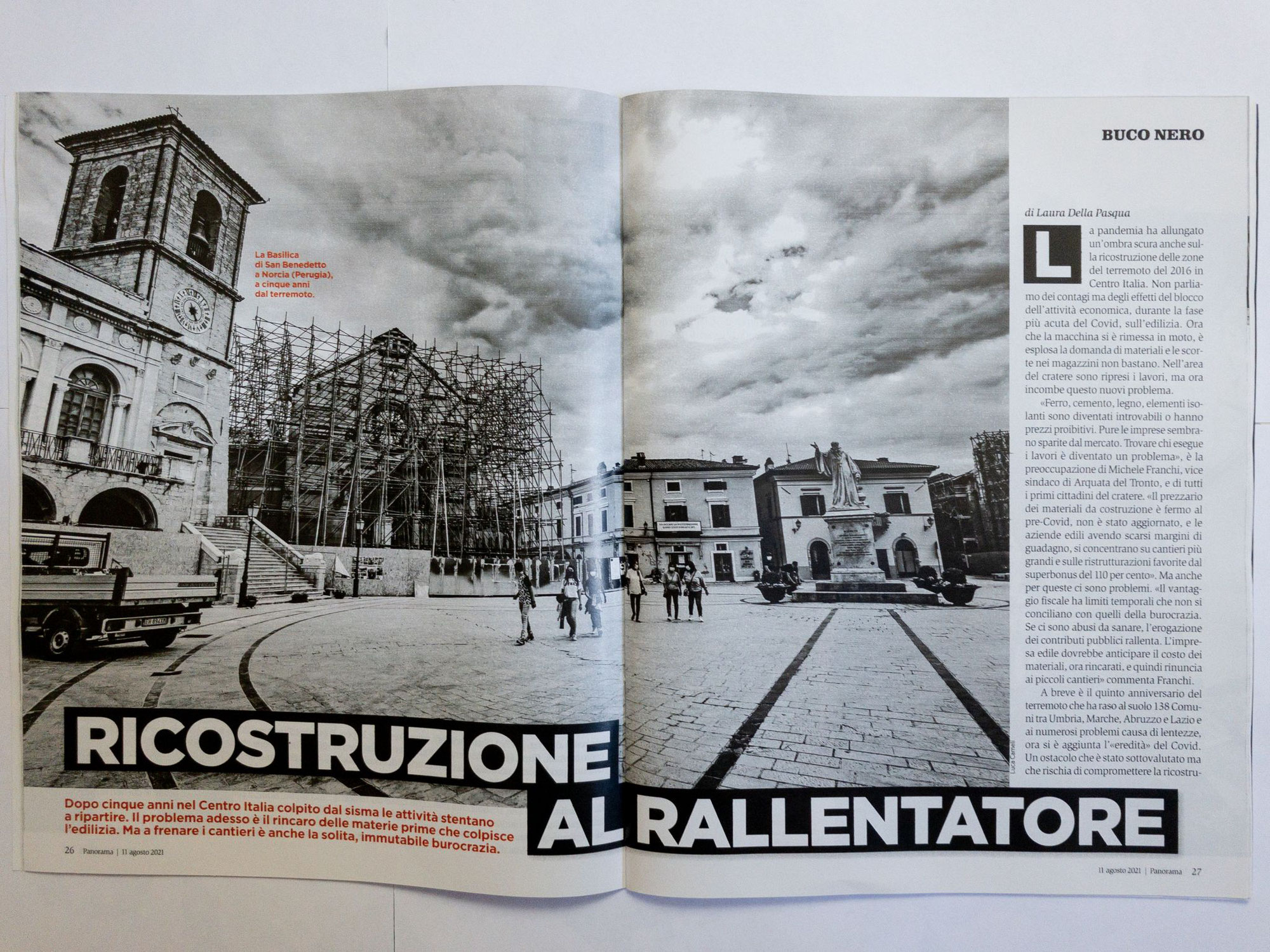 Panorama n.33/2021 - Terremoto Centro Italia 5 Anni Dopo