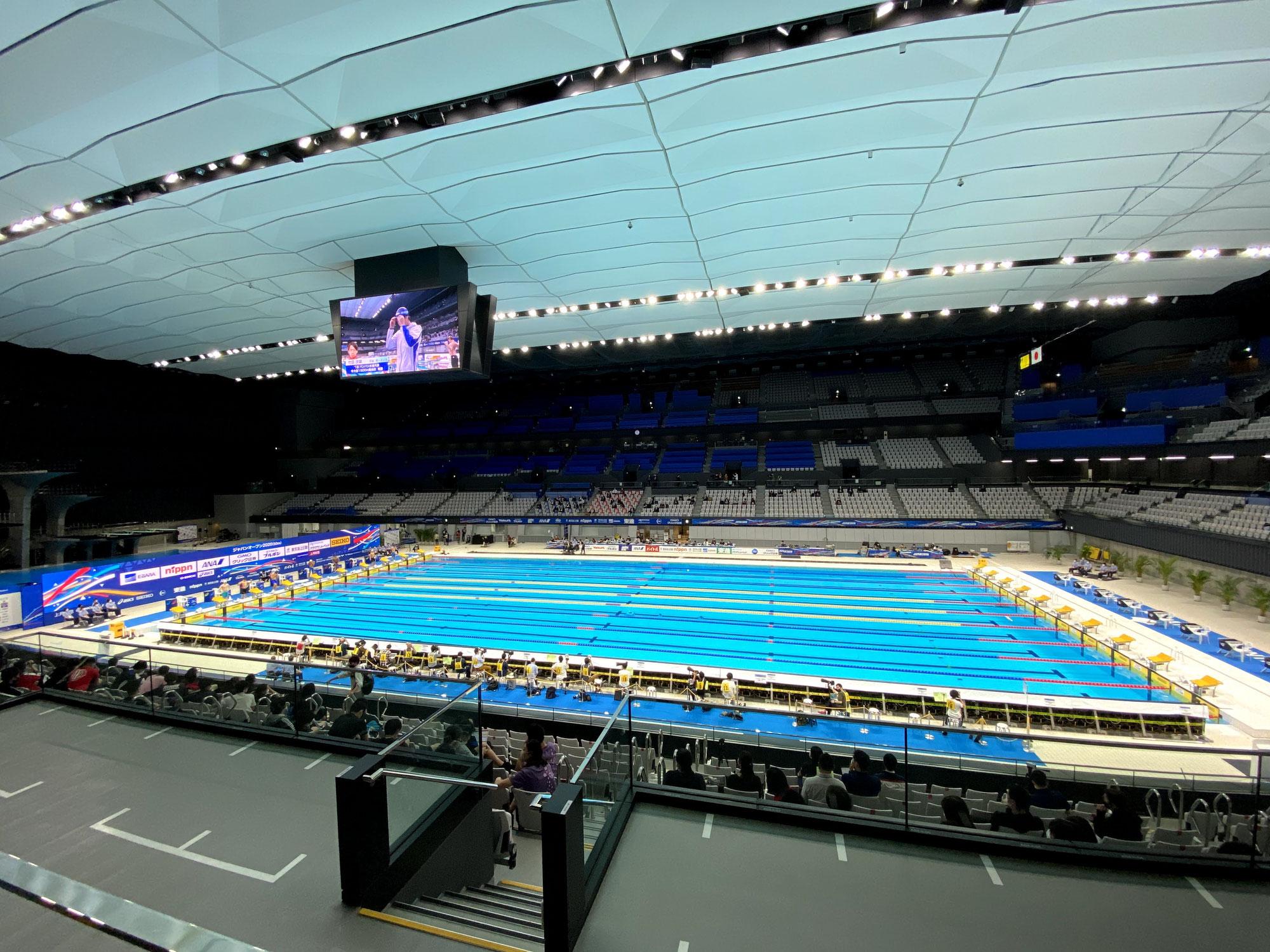 競泳【JapanOpen2020】トレーナー