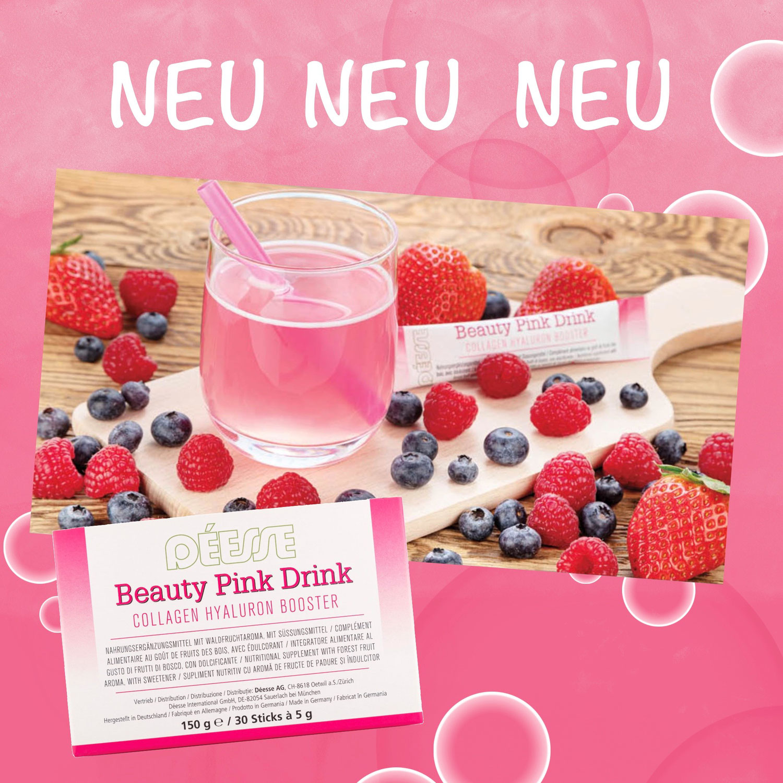 Beauty Pink Drink - Trink dich schön!