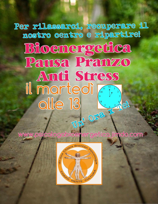 Bioenergetica: gli esercizi anti stress