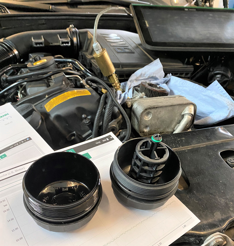 Öldruck weg BMW F31 - finde den Fehler