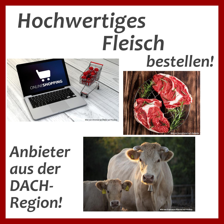 Online-Versand von Weidefleisch