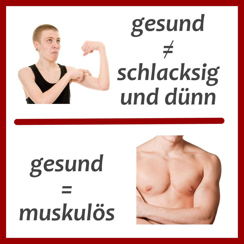 Muskeln und Gesundheit