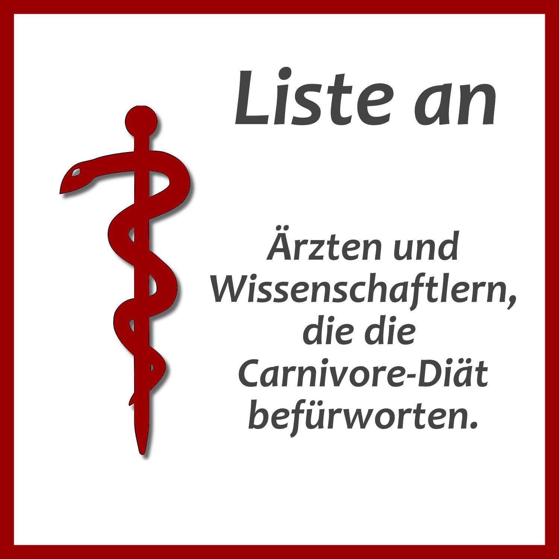 Liste an Ärzten und Wissenschaftlern