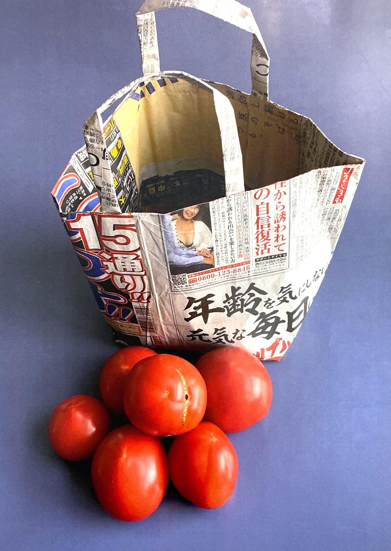 今週のありがとうCADEAUTJE 01/2021   みて、ぼくが育てたトマトだよ!