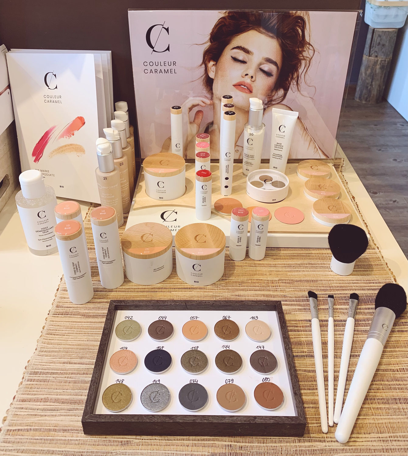 Couleur Caramel Make-up in neuer Verpackung