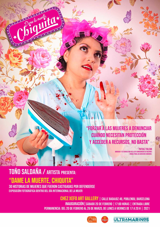 Dame la Muerte Chiquita. Fotografías de Toño Saldaña