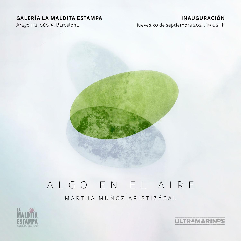 ALGO EN EL AIRE. Martha Muñoz Aristizabal