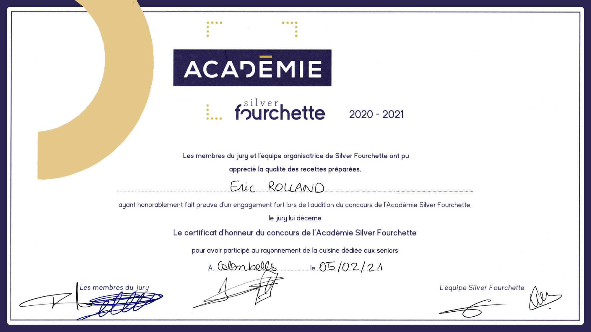 Académie Silver Fourchette 2020-2021