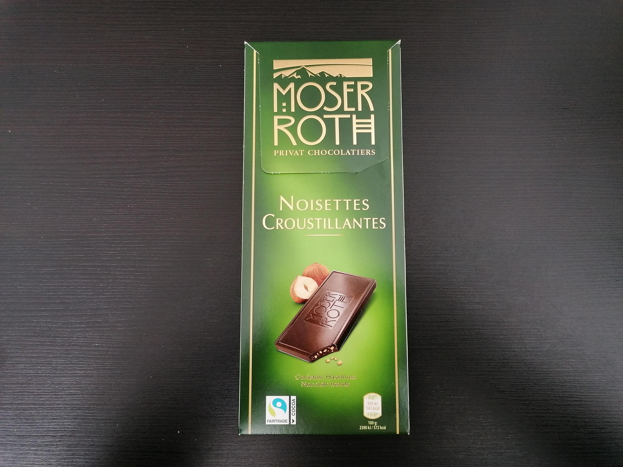 Moser Roth Noisettes Croustillantes