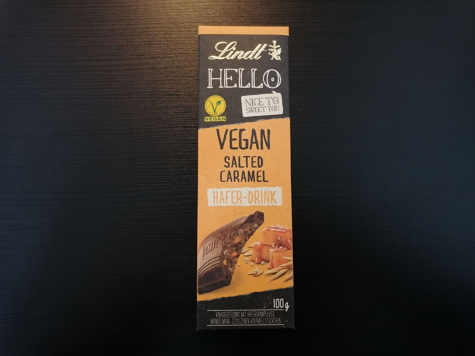 Lindt Hello vegan Salted Caramel