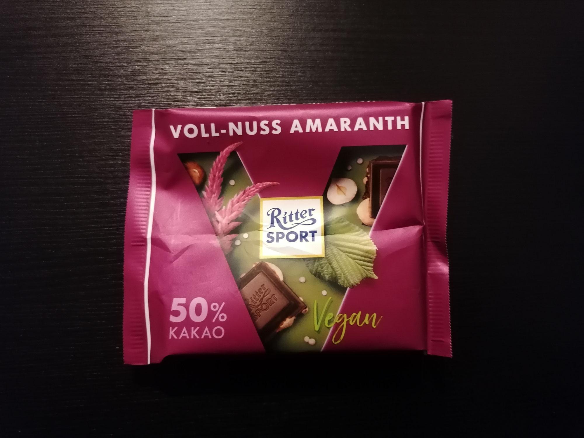 Ritter Sport Voll-Nuss Amaranth,