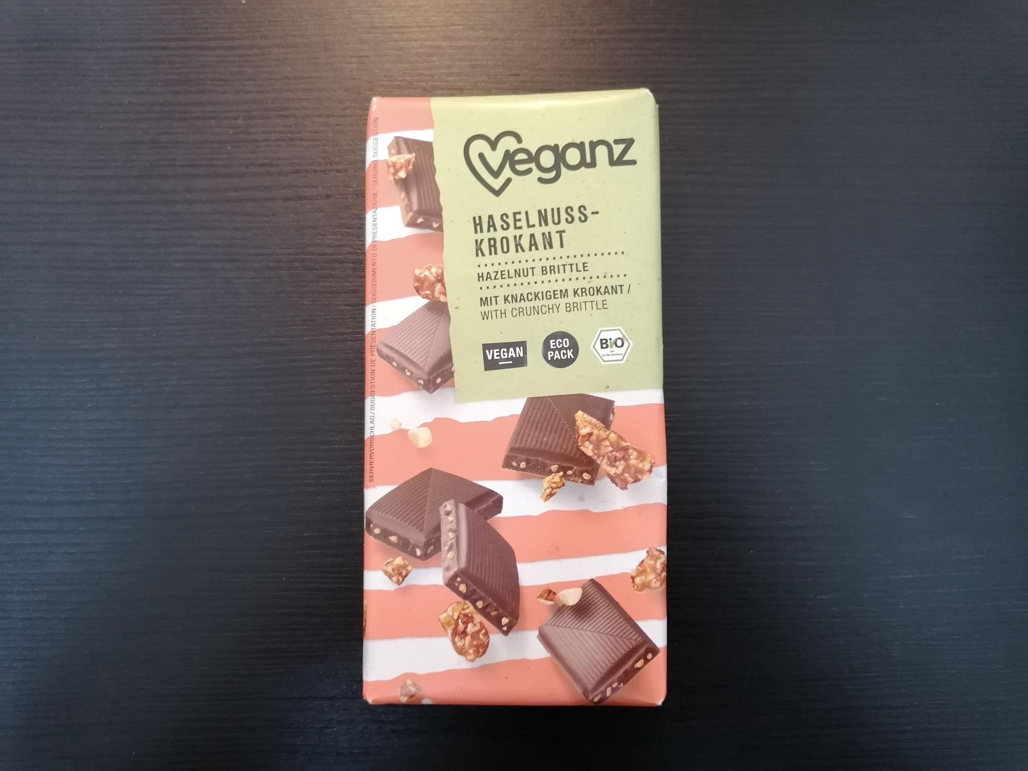 Veganz Haselnuss-Krokant
