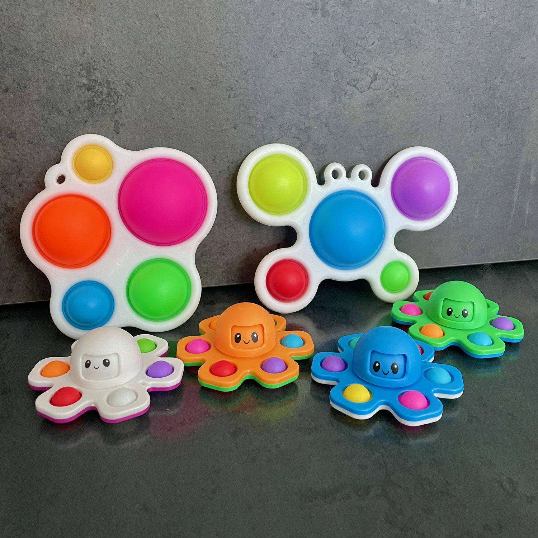 Sensorik Push-Bubbles