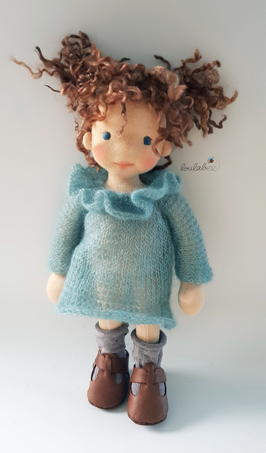 Creative process in doll making