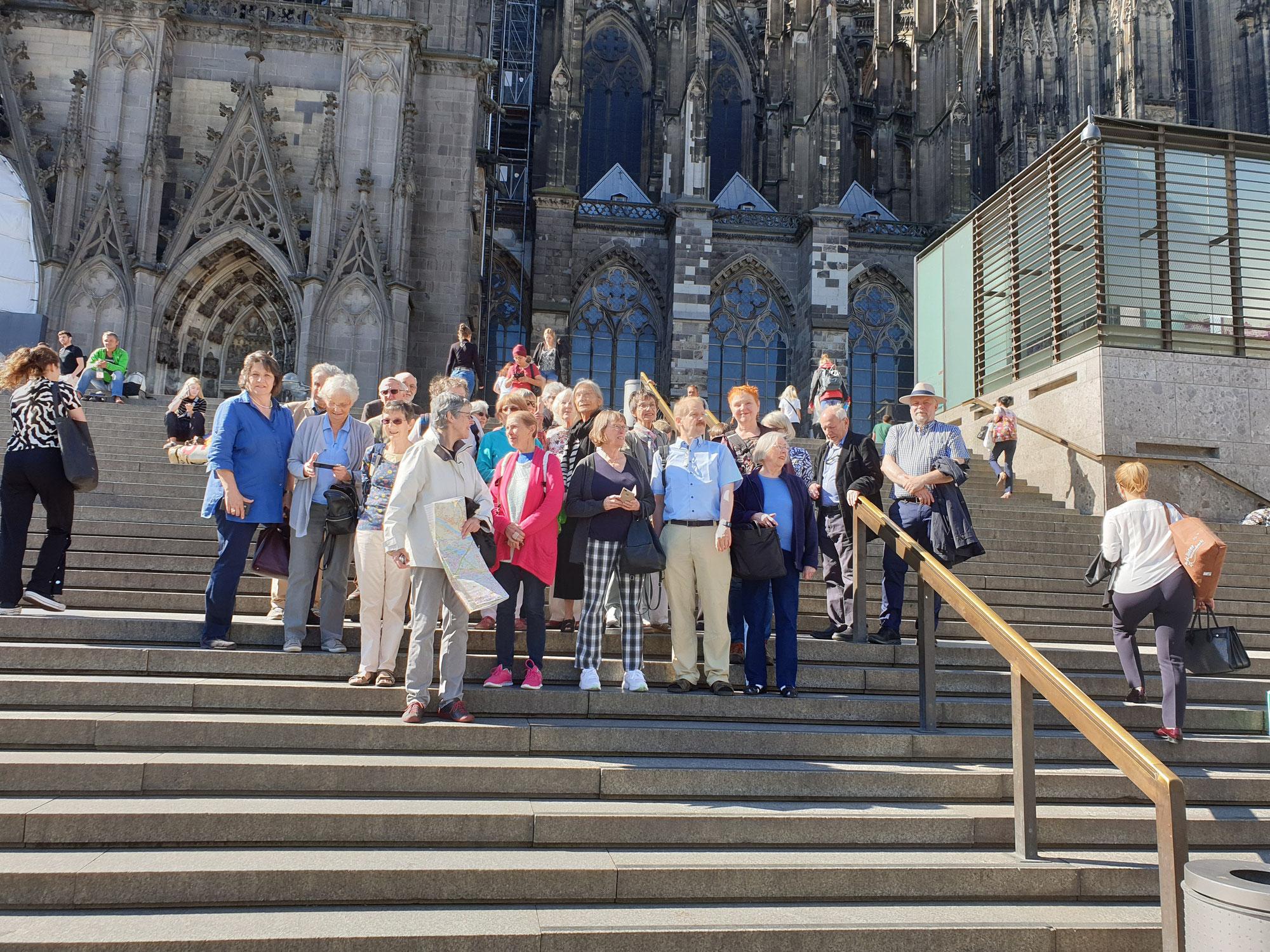 Ökumenische Begegnung im Rahmen des Bonn-Oxford link of Churches