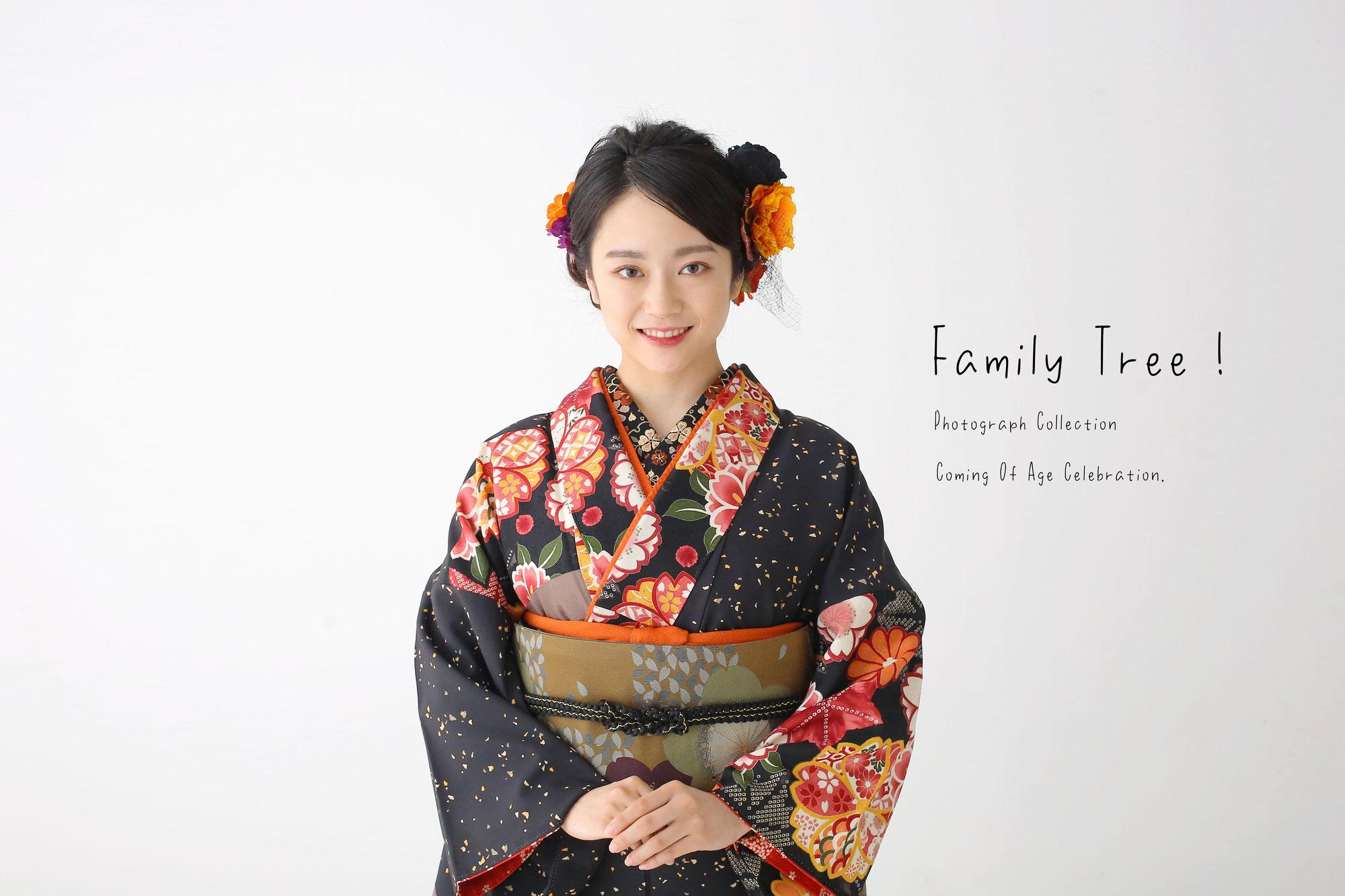 新潟市にある 3F Photo Studio.の成人記念写真!