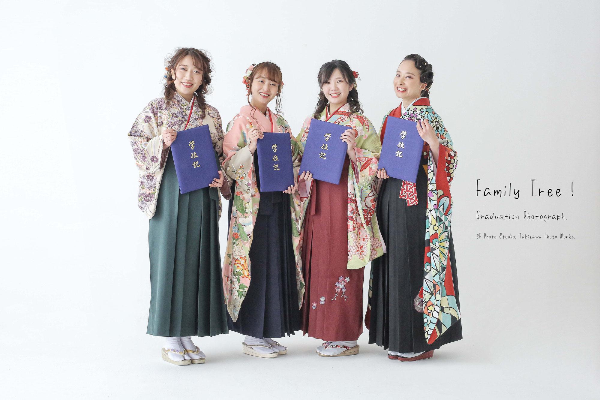 新潟市にある 3F Photo Studio.の卒業写真!