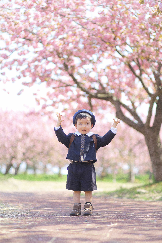 新潟市にある 3F Photo Studio.の入園写真!