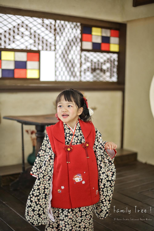 新潟市にある 3F Photo Studioの七五三〜!