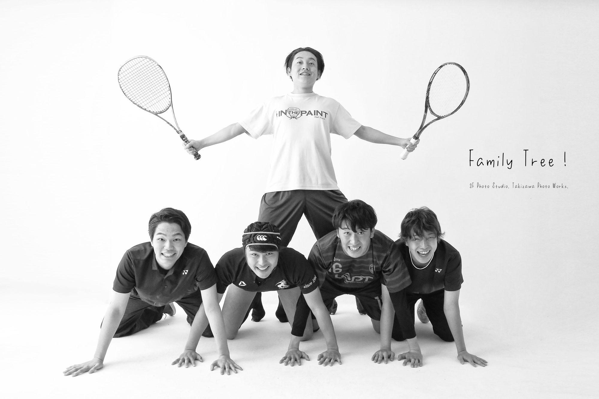 新潟市にある 3F Photo Studio.の卒業記念写真です!