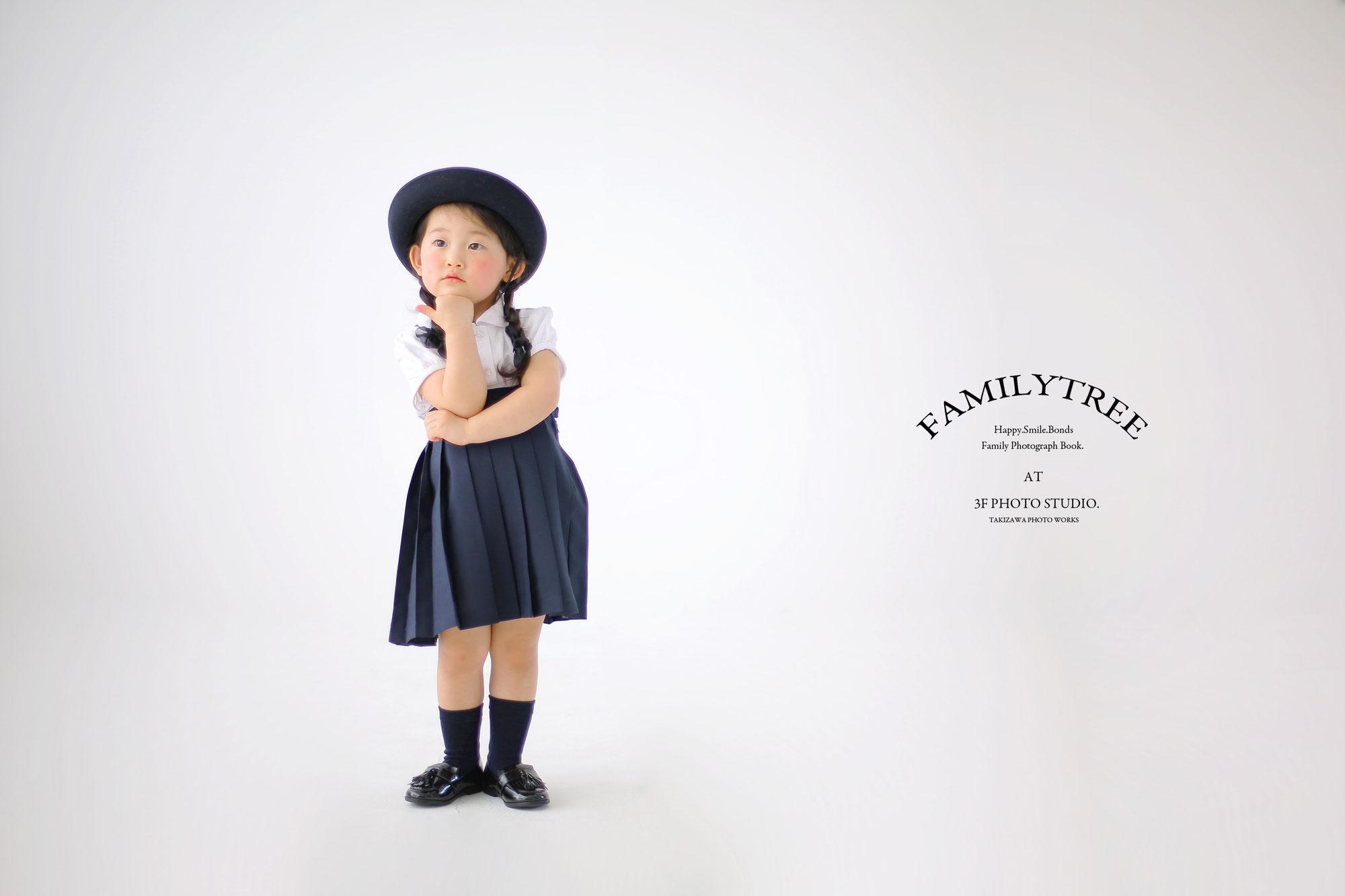 新潟市にある 3F Photo Studio.の入園の記念写真!