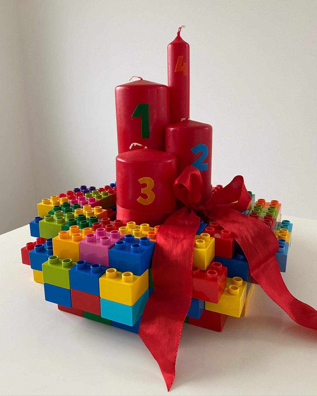Adventskranz Lego