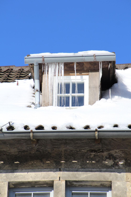 Schneewanderung rund um die Burg Sternberg