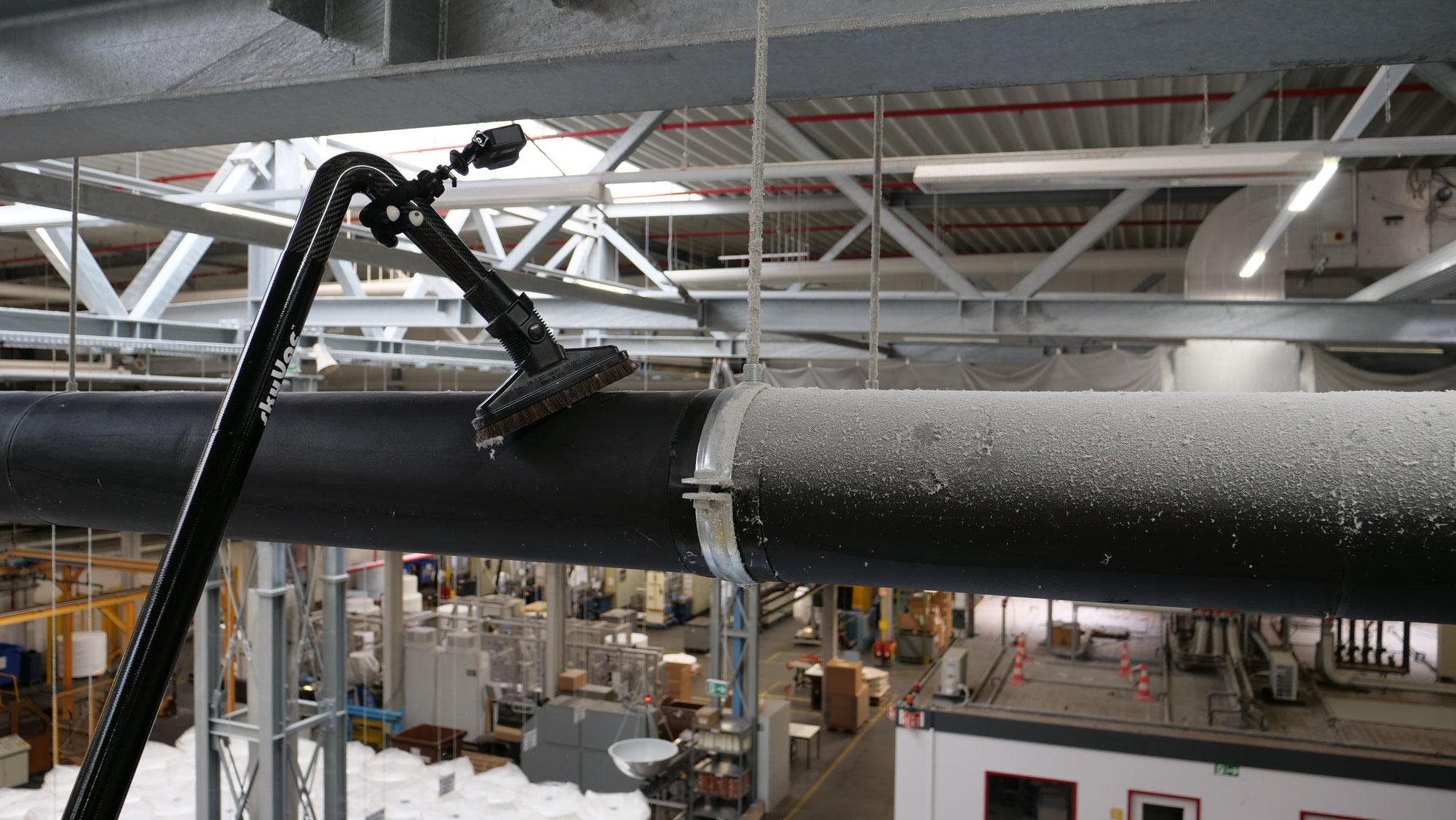 Entstaubung in bis zu 12 Meter Höhe inkl. EX-Schutz - jetzt neu im Programm!