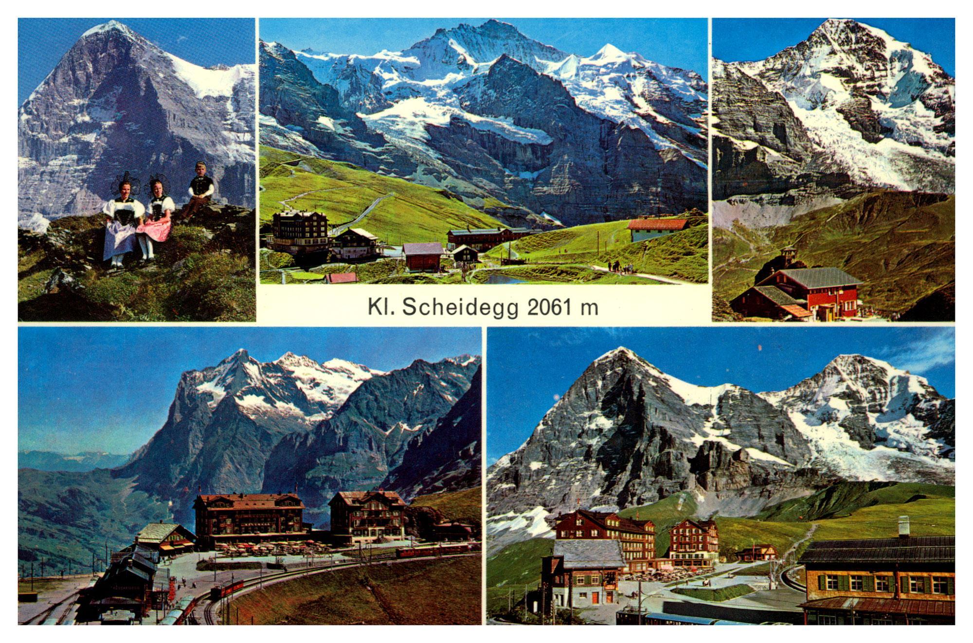 Interlaken und Kleine Scheidegg - Camping Alpenblick