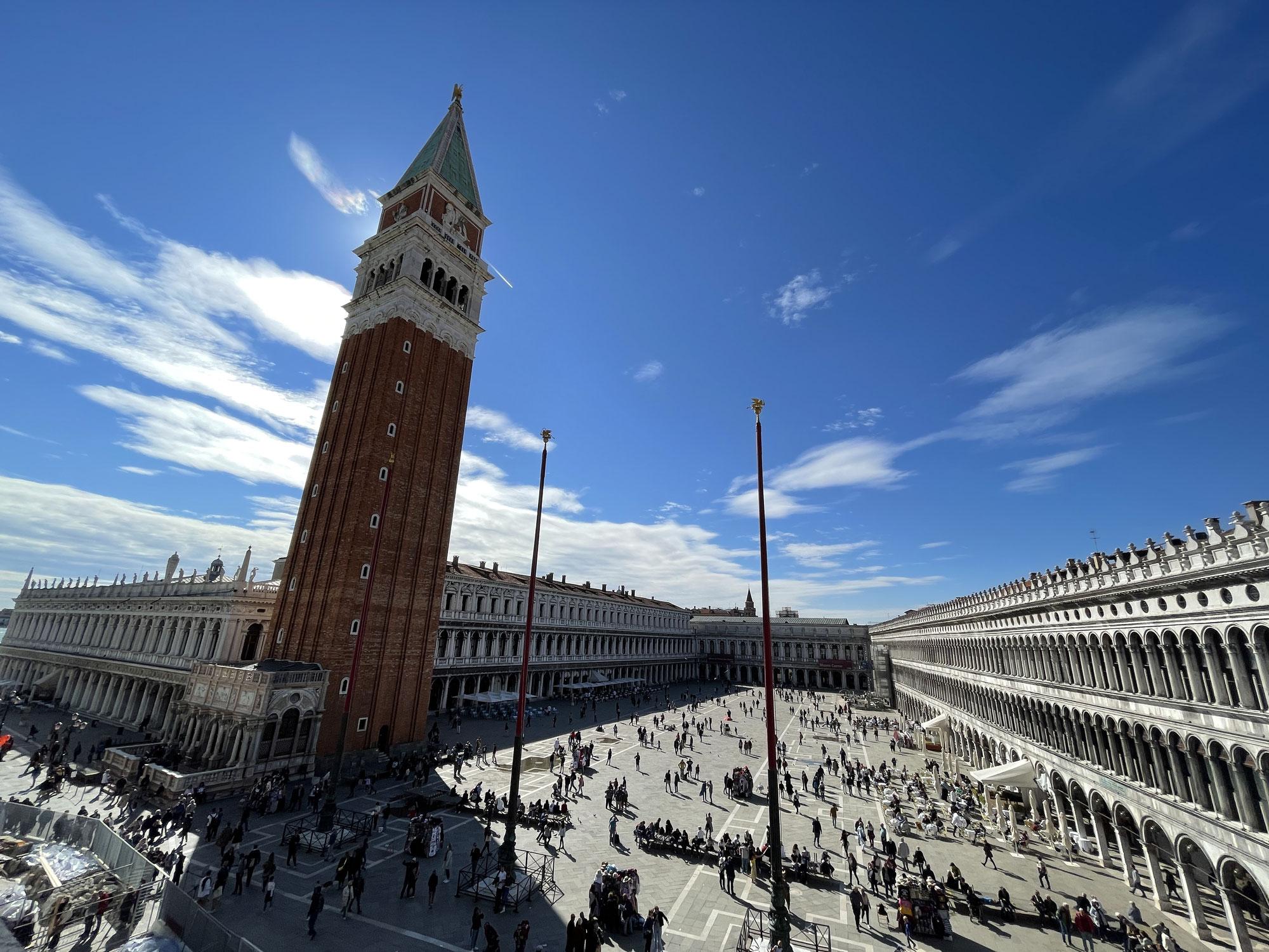 Tag 3 Venezia, Dogenpalast und Markusdom