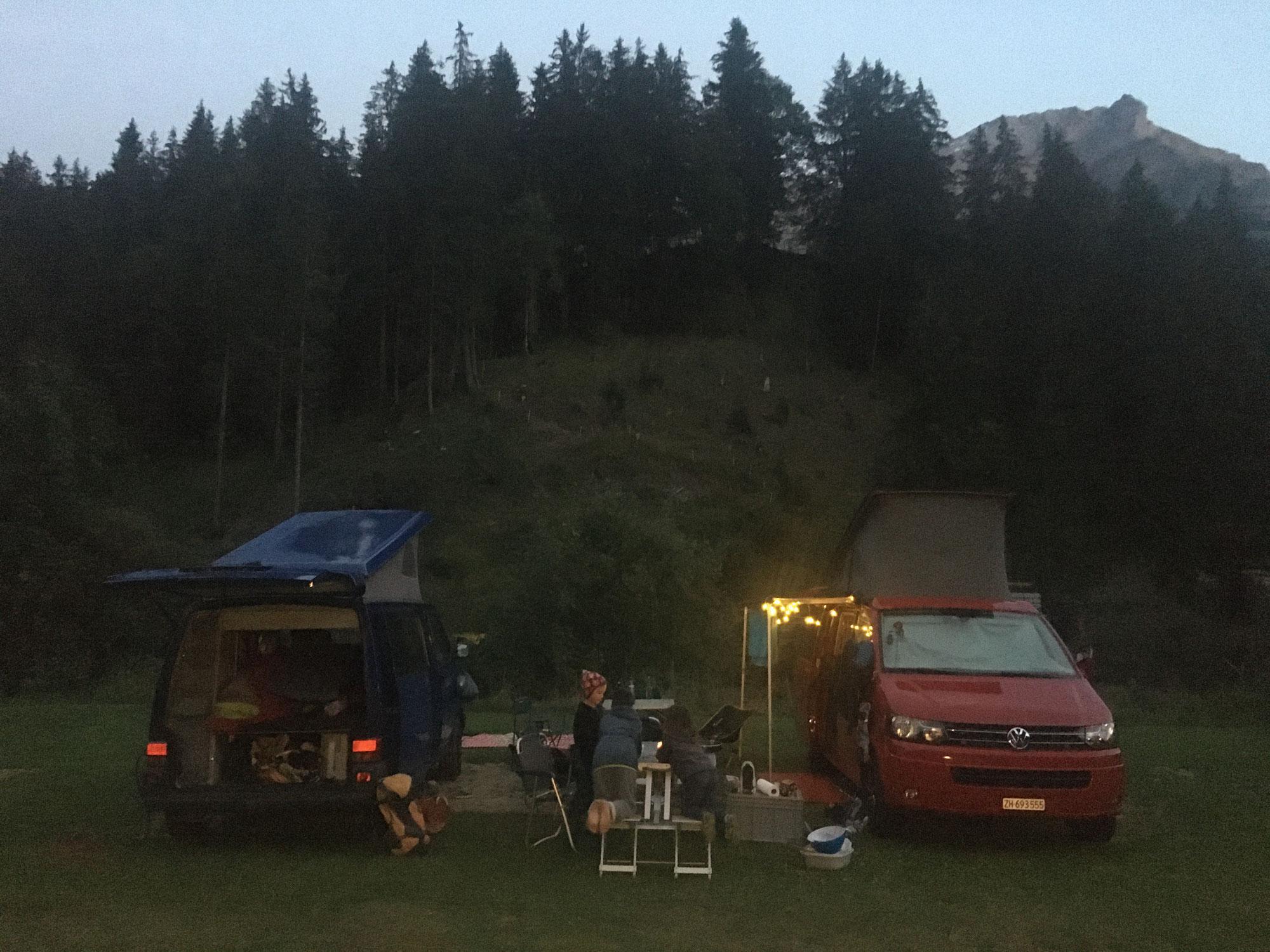 Klettern am Fels in Adelboden - Camping Bergblick