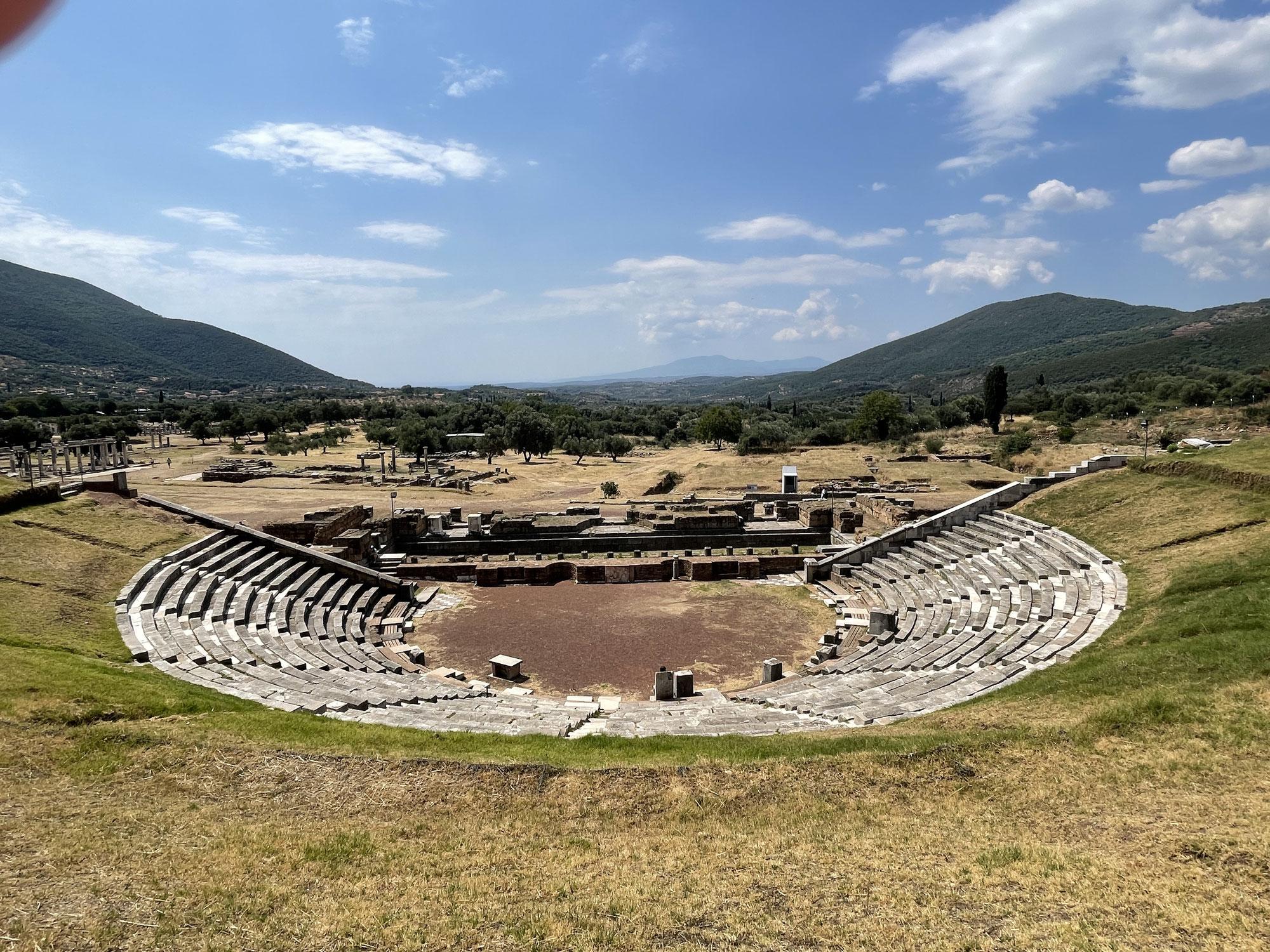 Tag 7, Ausflug nach Messene, archäologische Stätte und Kalamata