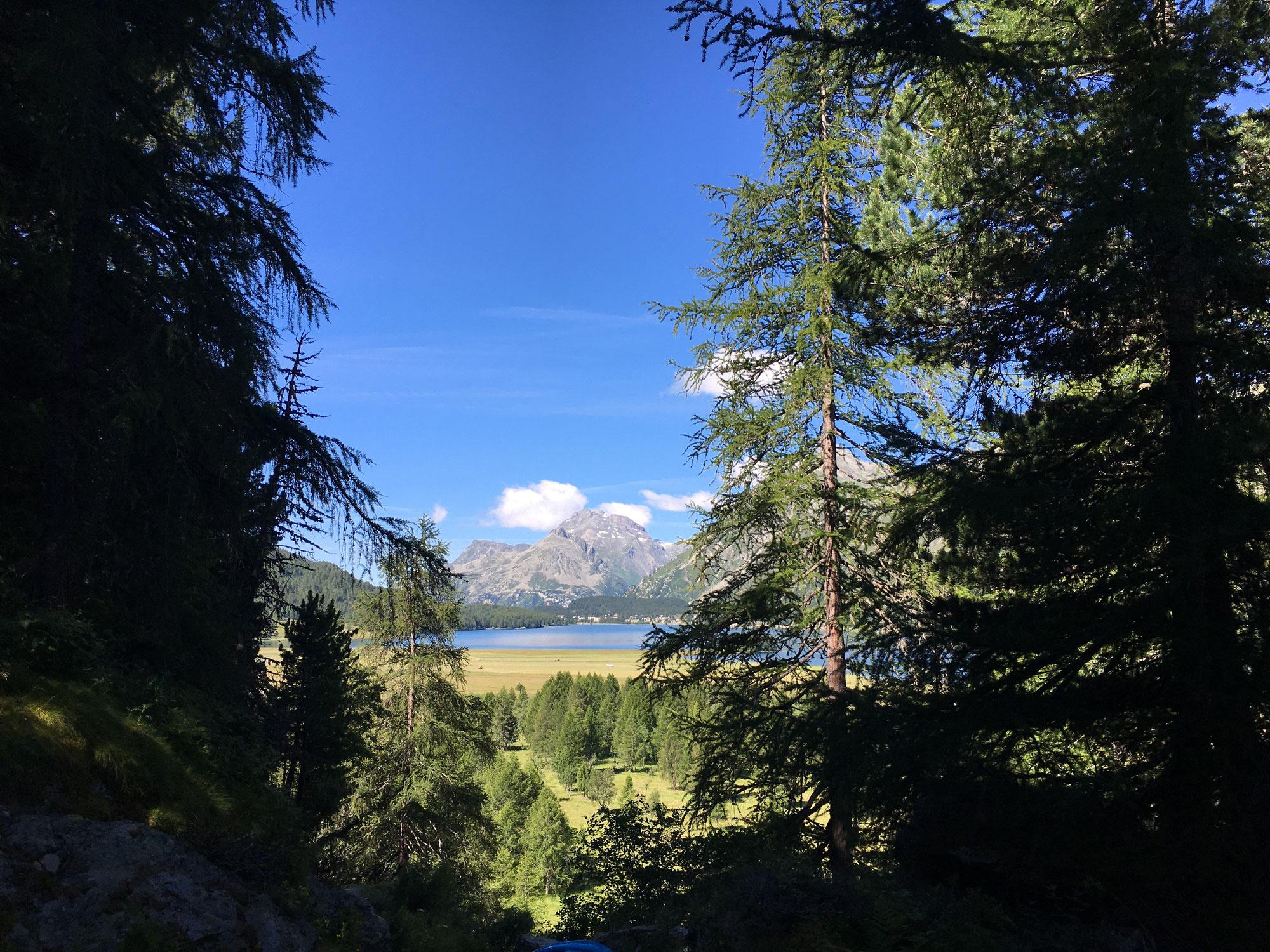 Ab ins Engadin - Maloja und Val Fex