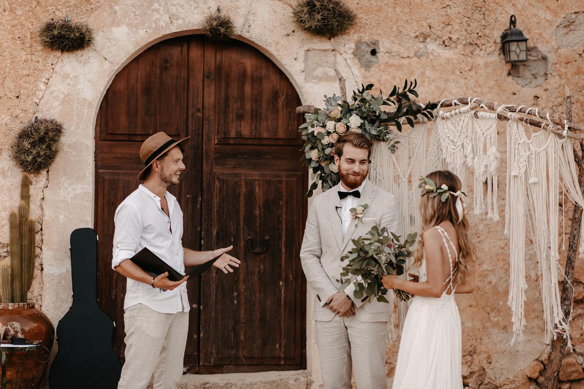 Elopement Mallorca - Hochzeit zu zweit
