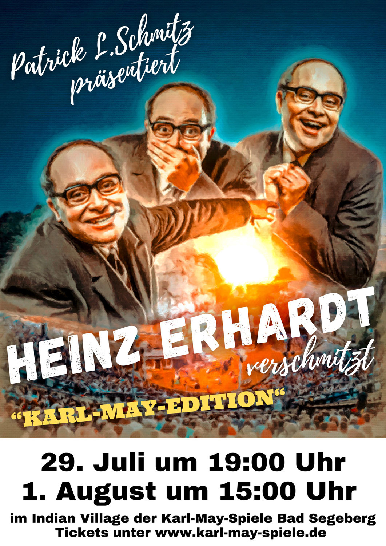 """Lachen mit der Comedy-Legende: """"Heinz Erhardt verschmitzt"""" am Kalkberg"""