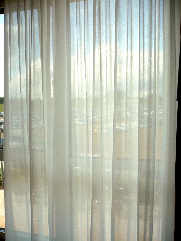 Transparente Baumwollvorhänge