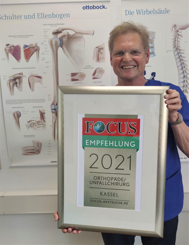 FOCUS-Auszeichnung für Dr. Gerd Rauch