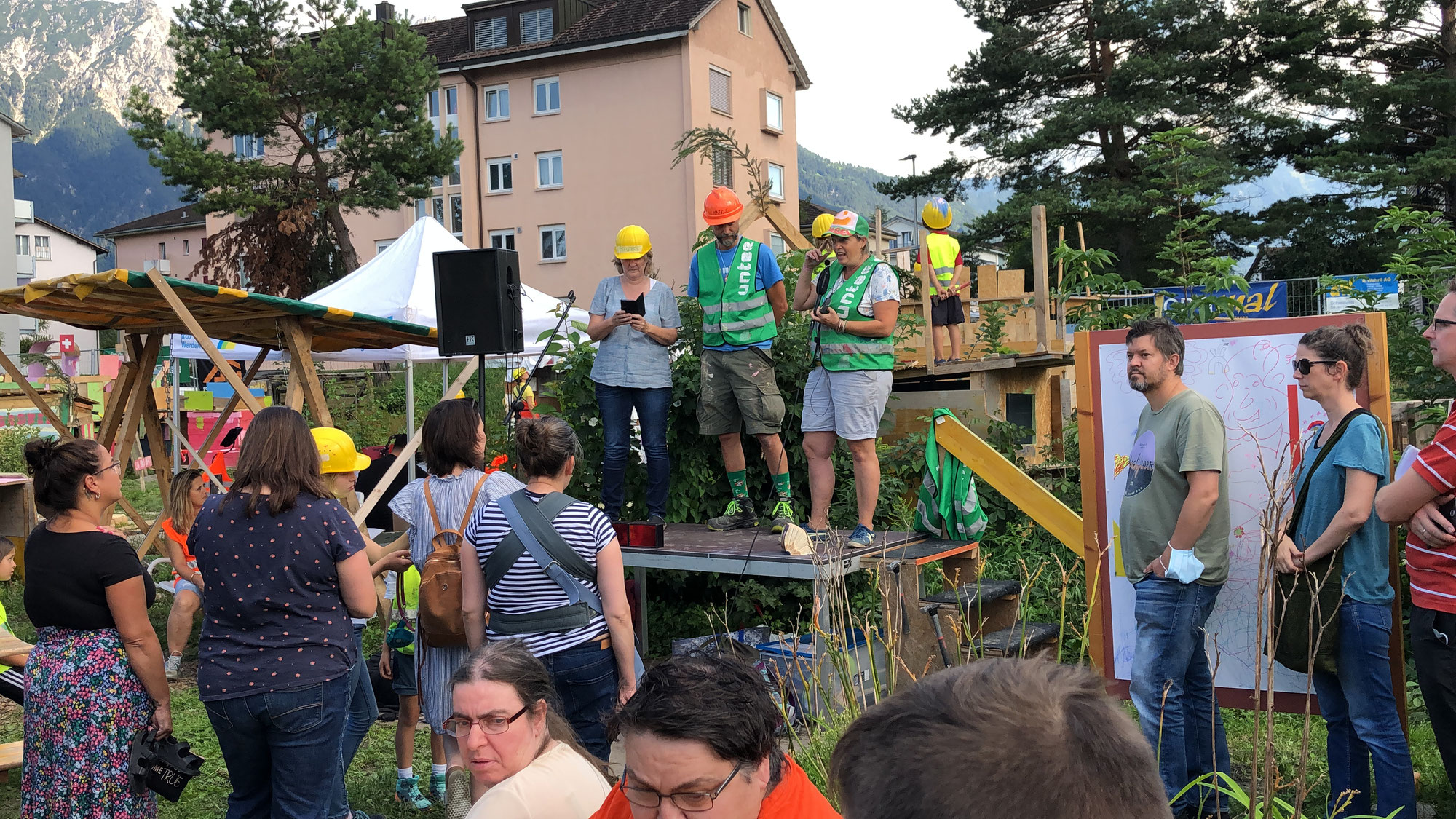 Tolles Aufrichte-Fest
