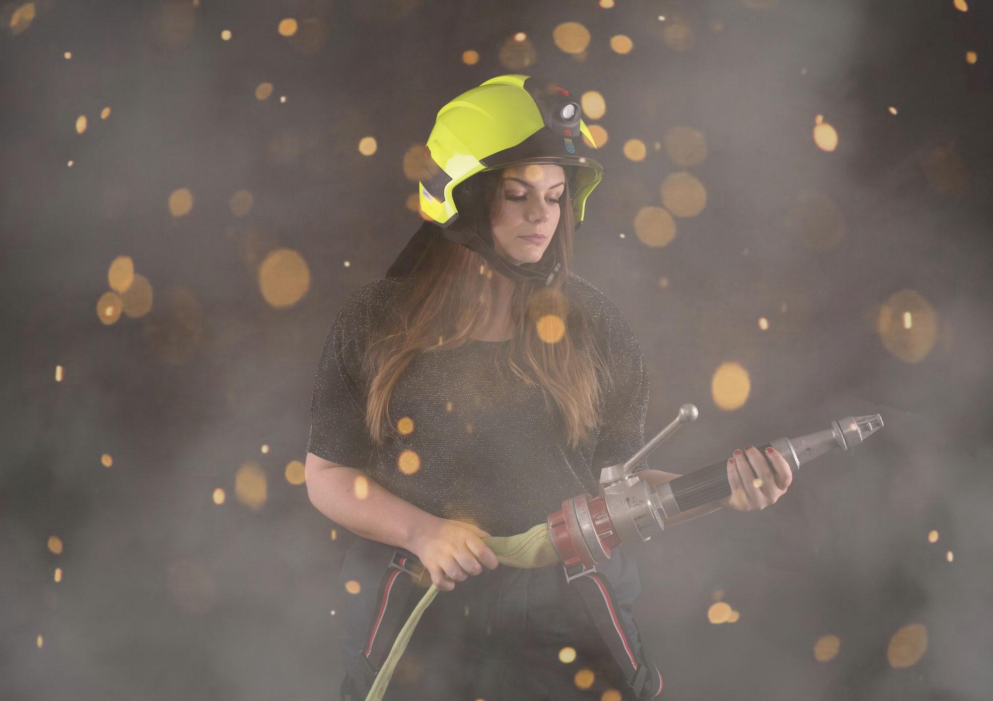 Firefighter Shooting mit Sarah