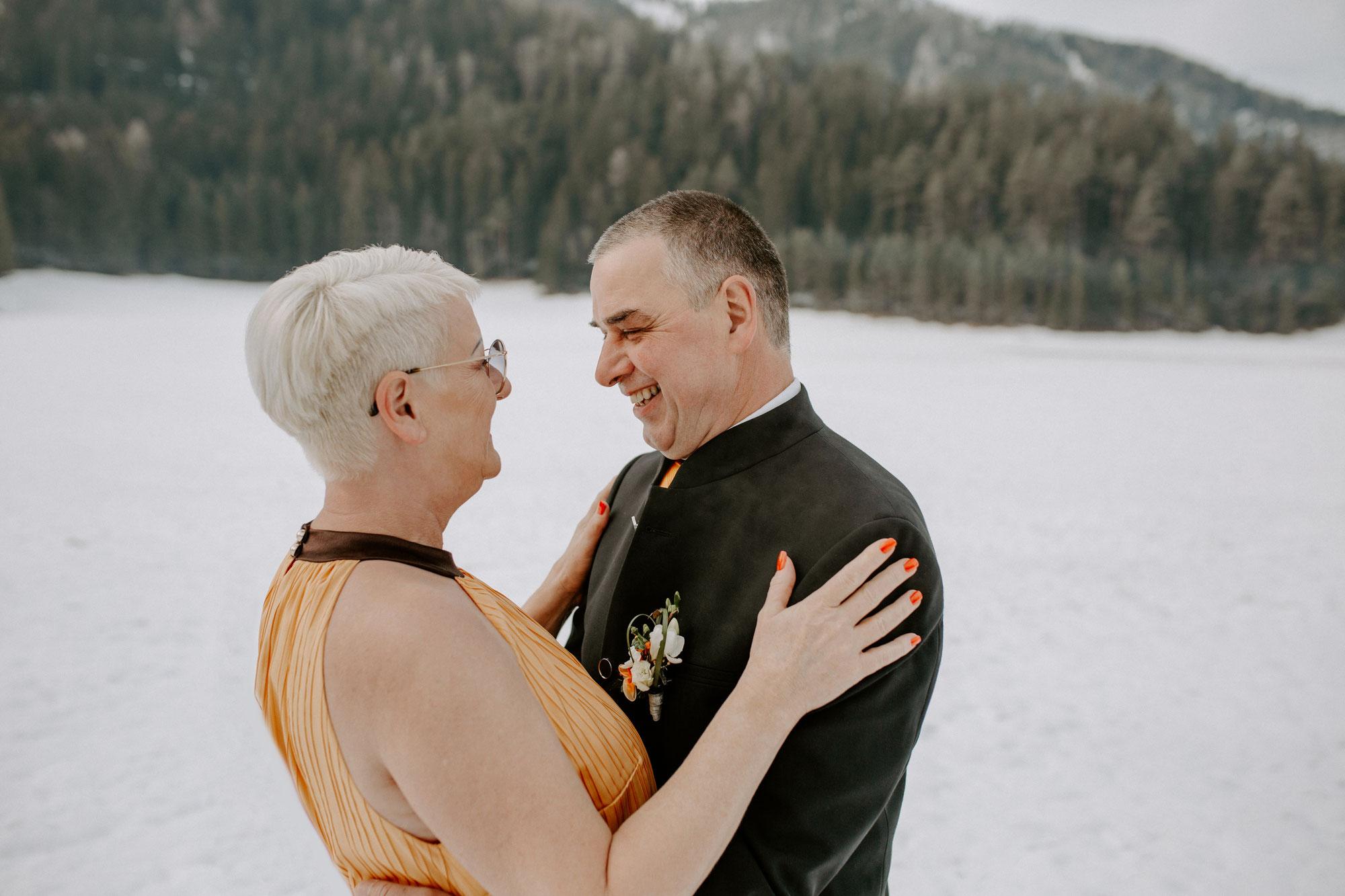Karoline & Christian - Eine Winterhochzeit im kleinsten Kreis