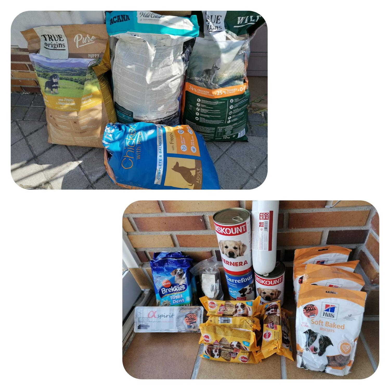 Donación alimento
