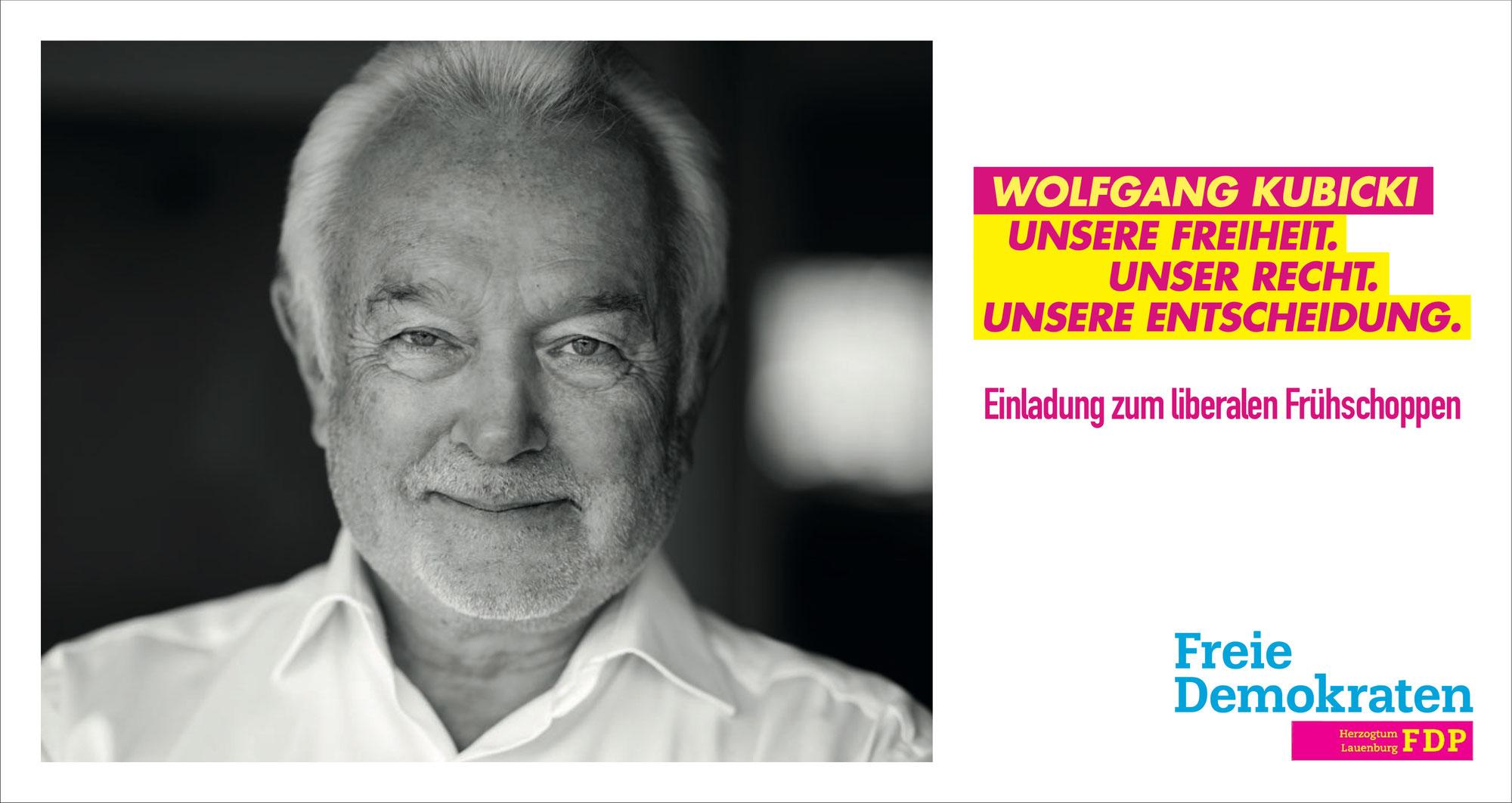 Frühschoppen mit Wolfgang Kubicki am 15.08.2021