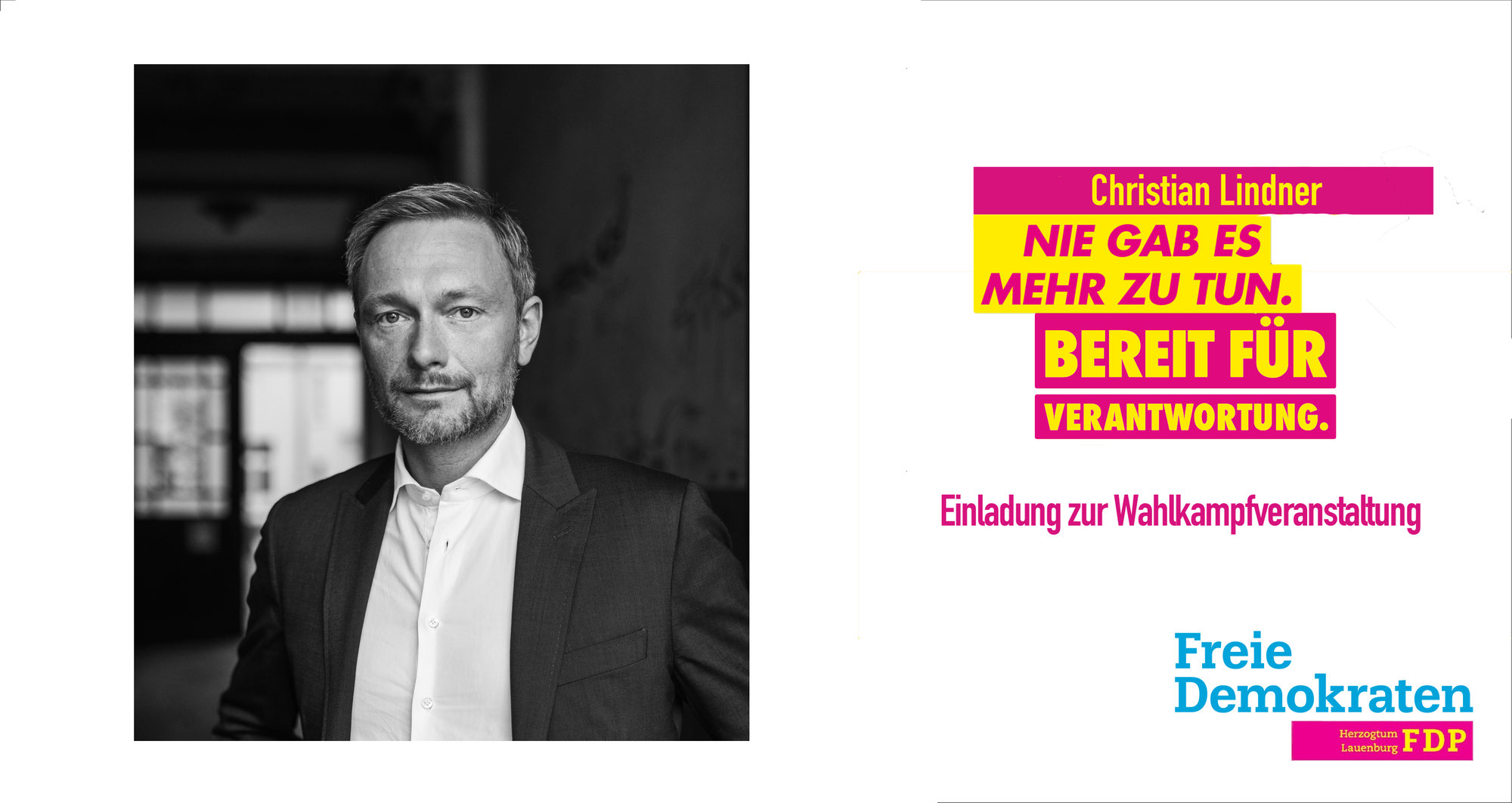 Wahlkampf mit Christian Lindner am 17.08.2021